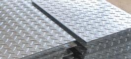 縞鋼板加工品