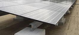 太陽光発電パネル架台