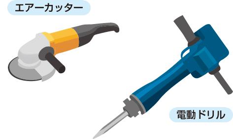 特別な工具不要