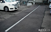 駐車場の排水溝
