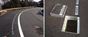 歩車道フラット化工事施工完了