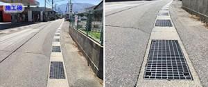 LSハイテンハードロックしシステムグレーチングを使用して騒音問題を解決した現場写真