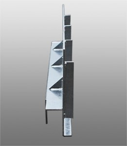 鋼製擁壁を使用した水路かさ上げ工法EZメタルウォール