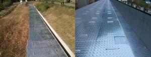 縞鋼板(チェッカープレート)