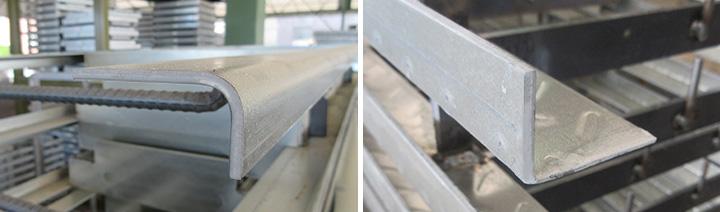 高耐食めっき鋼板(プレめっき鋼板)の端部切断面