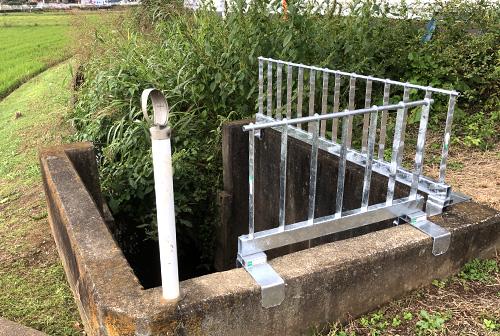 工事なしで安全柵をつける