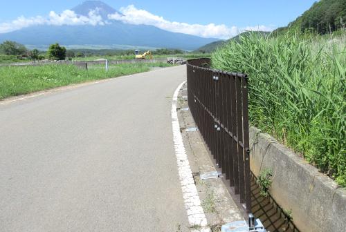 水難事故を防ぐ転落防止柵